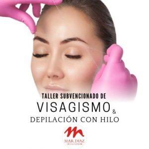 Visagismo y depilación con hilo